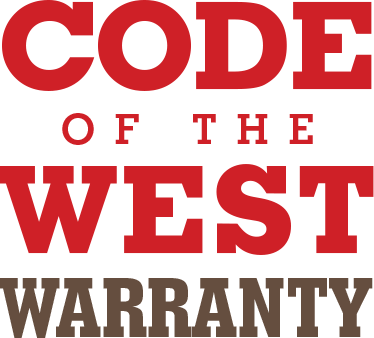 Code of the West Warranty